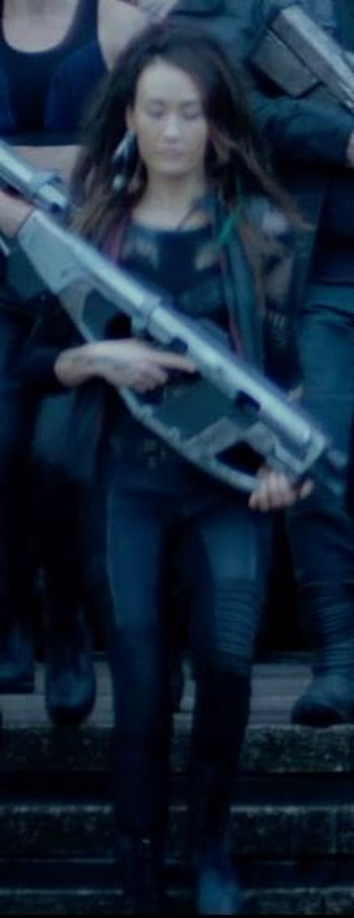 Custom Made 'Dauntless' Military Pants (Tori Wu) by Louise Mingenbach (Costume Designer) in The Divergent Series: Insurgent
