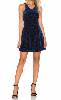 Sleeveless Mini Dress by Eight Sixty in Supergirl