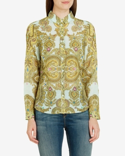 Jewel Paisley Shirt by Loosey in Captive
