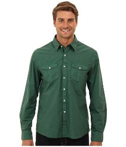 Double Pocket Long Sleeve Button Down Shirt by Arnold Zimberg in Prisoners