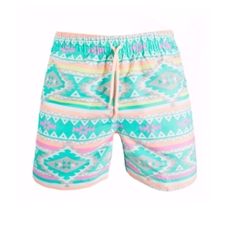 The En Fuegos Swim Trunks by Chubbies in The Bachelor