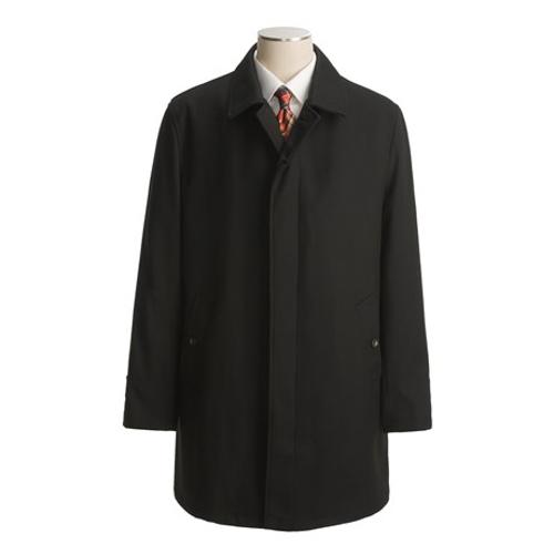 Wool Twill Overcoat by John Varvatos Star USA in Chronicle