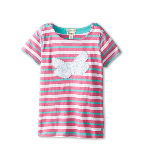 Graphic Butterflies Applique Tee by Hatley Kids in Vacation