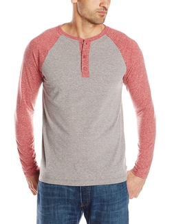 Men's Clec Long-Sleeve Snow Jersey Henley Shirt by Levi's in Modern Family
