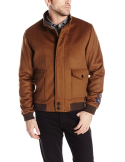 Holman Cashmere Blend Bomber Jacket by Hart Schaffner Marx in Popstar: Never Stop Never Stopping
