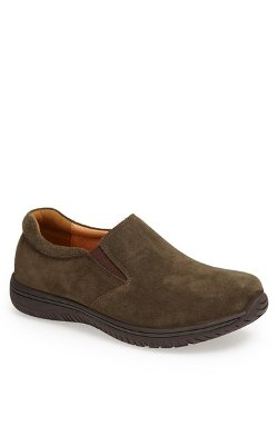 Aaron' Suede Slip-On Shoes by Alegria in If I Stay