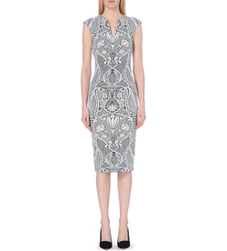 Sancha Jacquard Midi Dress by Ted Baker in Pretty Little Liars