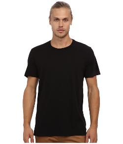 Crew Neck Whisper Jersey T-Shirt by Velvet by Graham & Spencer in Warm Bodies