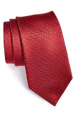 Woven Silk Tie by Michael Kors in The Boy Next Door