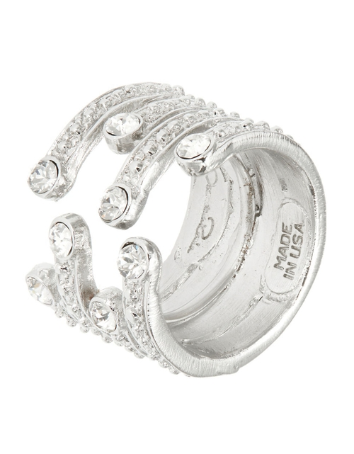 Swarovski Crystal Multi-Row Ring by Oscar De La Renta in The Last Witch Hunter