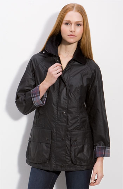 'Beadnell' Waxed Cotton Jacket by Barbour in Thor: The Dark World