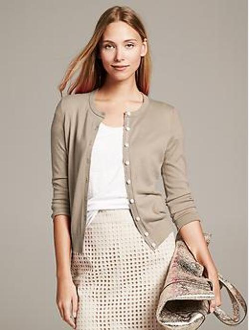 Anna Cardigan by Banana Republic in Addicted