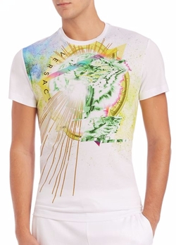Graphic Crewneck T-Shirt by Versace Jeans in Empire