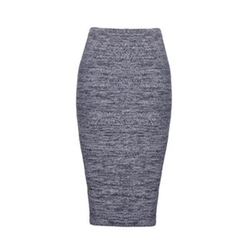 Morena Herringbone Long Pencil Skirt by Alice + Olivia in How To Get Away With Murder