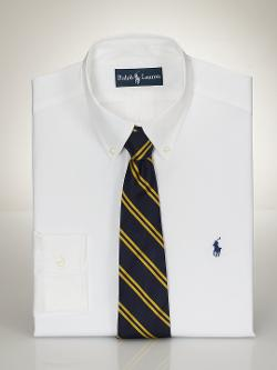 Classic-Fit Pinpoint Oxford by Polo Ralph Lauren in Anchorman 2: The Legend Continues