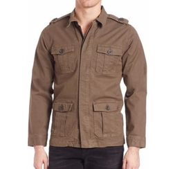 L'Homme Military Jacket by Frame in Lethal Weapon
