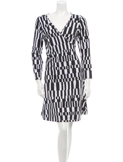 Printed Dress by Diane Von Furstenberg in Masterminds