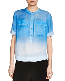 Cocotte Ombré Shirt by Maje in Jane the Virgin