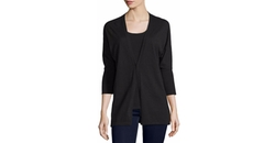 Superfine Cashmere Dolman-Sleeve Cardigan by Neiman Marcus Cashmere Collection in Miss Sloane