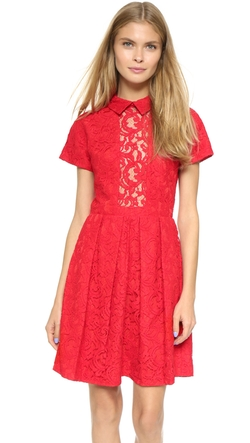 Lace Dress by Carven in The Mindy Project