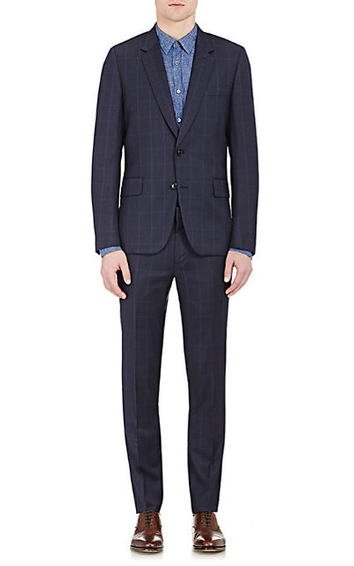 Windowpane-Checked Soho Suit   by Paul Smith Exclusive  in Billions - Season 1 Episode 3