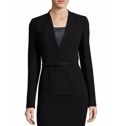 Anya Finesse-Crepe One-Button Blazer by Lafayette 148 New York in House of Cards