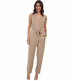 Ridley Safari Wrap Jumpsuit by BCBGMAXAZRIA in The Flash