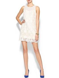 Crochet Mini Dress by Skies Are Blue in Limitless