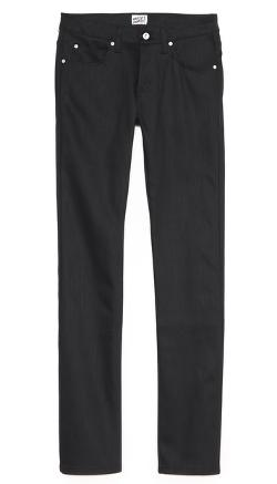 Skinny Guy Jeans in Raw Stretch Denim by Naked & Famous in The Purge: Anarchy