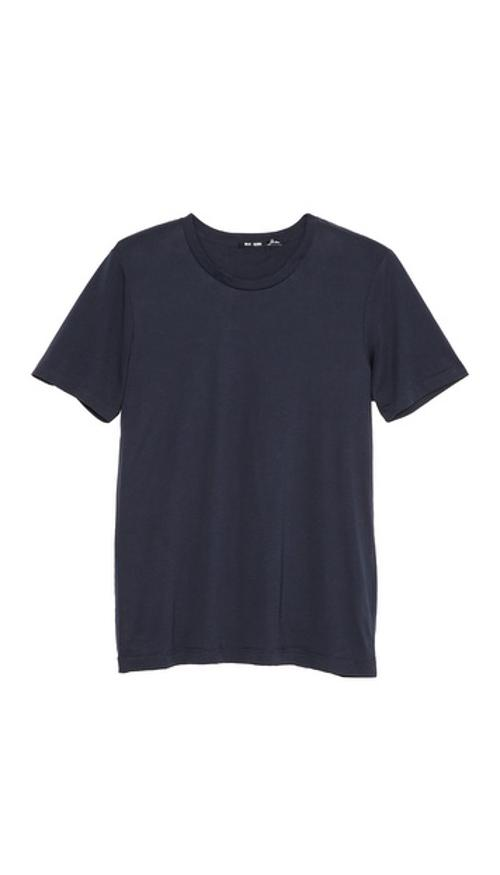 Classic Crew Neck T-Shirt 3 by BLK DNM in Ride Along
