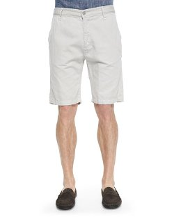 Cotton-Blend Chino Shorts by 7 For All Mankind in Begin Again