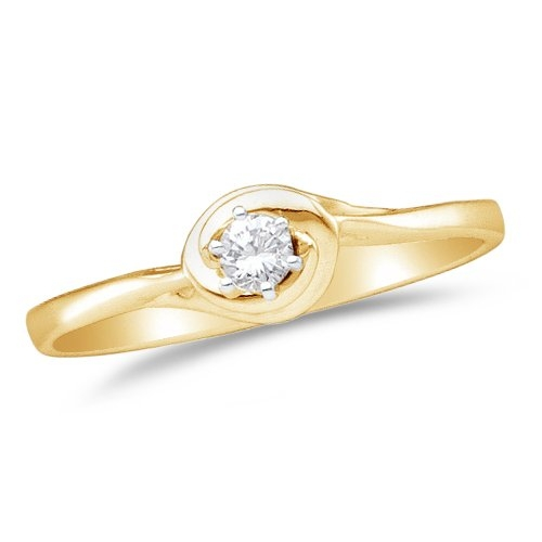 Diamond Halo Circle Engagement Ring by Sonia Jewels in The Overnight