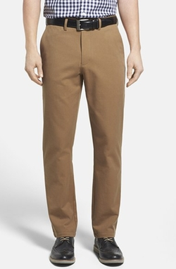 Washed Straight Leg Chinos by Nordstrom in 99 Homes