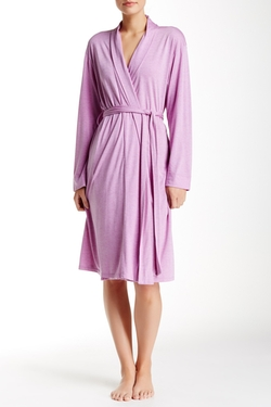 Short Dressing Robe by Natori in Whiskey Tango Foxtrot