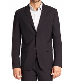 Wellar Stretch Wool Blazer by Theory in Gold