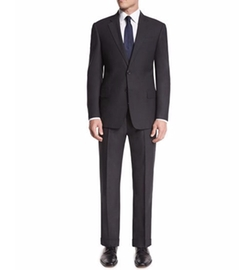 G-Line Textured Super 150s Suit by Armani Collezioni in House of Cards