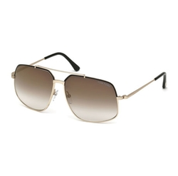 Ronnie Gradient Geometric Aviator Sunglasses by Tom Ford in Empire
