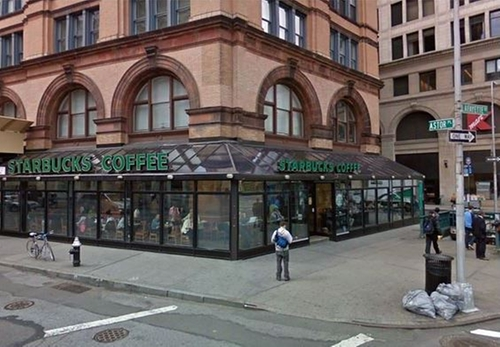 Starbucks Cafe, 13-25 Astor Place New York City, New York in Sex and the City