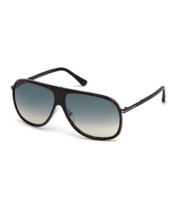 Chris Acetate Sunglasses by Tom Ford in Black Mass