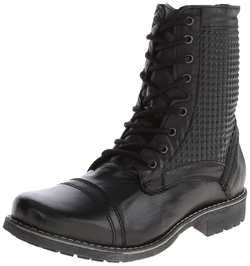 Men's Macklemore Combat Boot by Steve Madden in Hitman: Agent 47