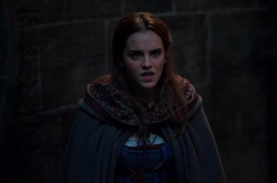 Custom Made Hooded Cape by Jacqueline Durran (Costume Designer) in Beauty and the Beast