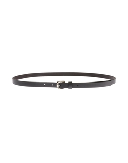 Soft Leather Skinny Belt by Moschino Cheapandchic in The Town