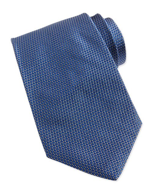 Textured Micro-Dot Tie, by Giorgio Armani	 in Fifty Shades of Grey