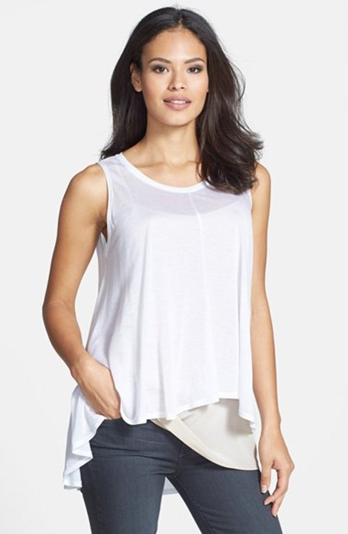 Jersey A-Line Tank Top by Eileen Fisher in Pitch Perfect 2