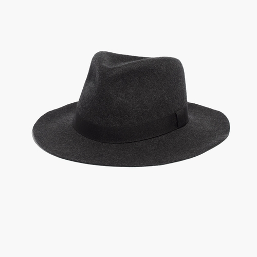 Straight-Brim Felt Fedora by Madewell & Biltmore in Nashville - Season 4 Episode 10