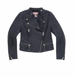 Ryan Leather Jacket by Andrew Marc in Gypsy