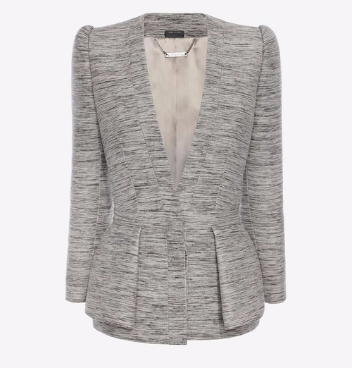 Fold Peplum Jacket by Alexander McQueen in Suits - Season 6 Episode 7