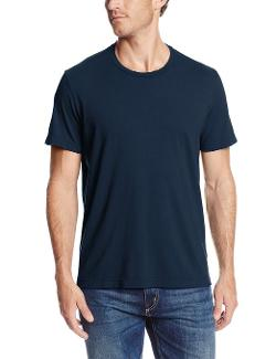 Men's Short Sleeve Crew Neck T-Shirt by Velvet By Graham & Spencer in Couple's Retreat