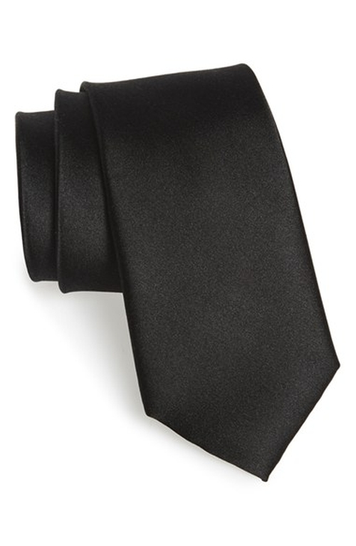 Solid Silk Tie by Ted Baker London in The Transporter