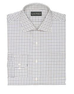 Classic-Fit Tattersall Twill Warren Dress Shirt by Ralph Lauren in On Her Majesty's Secret Service
